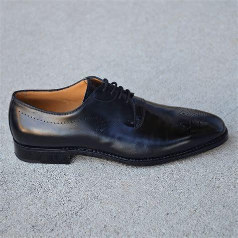 gravati s shoes gravati remo medallion toe in black calf norton ditto