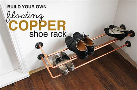 Build Shoe Rack In Closet by Organizing With A Copper Shoe Rack Hometalk