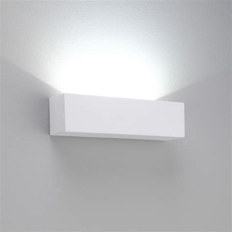 Uplights For Living Room by Eckige Gips Wandleuchte Wei 223 Modernes Design Mit Leds