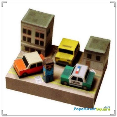 Papercraft City - grand theft auto papercraft vice city papercraftsquare