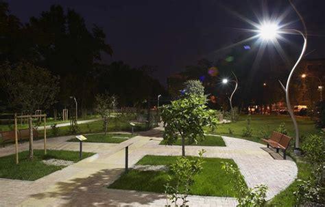 illuminazione parma outdoor park led lighting study parma italy cree