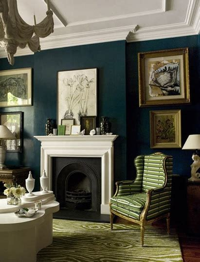 why dark walls look good in a room with little natural emerald city why i m crushing on dark greens the