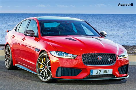 jaguar xe svr exclusive images auto express