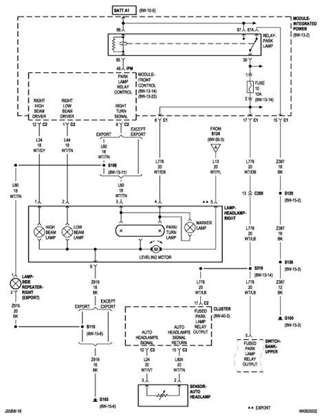 2006 Jeep Grand Wiring Diagram 2006 Jeep Grand Lights Quit Working Auto