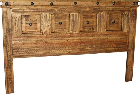 Rustic King Headboard Francis King Headboard Durango Trail Rustic Furniture