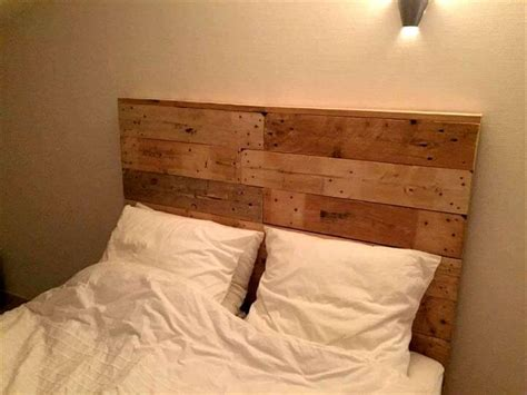 wooden pallet headboard recycled pallet bed with headboard pallet furniture diy
