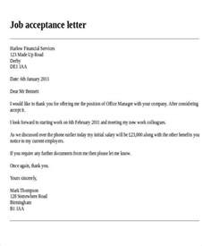 Acceptance Letter For A Teaching Letter Format