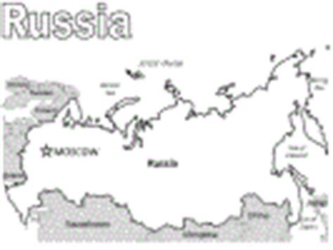 coloring page map of russia russian coloring pages