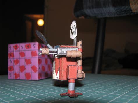 Papercraft 40k - ork killa kan warhammer 40k papercraft by kotlesiu on