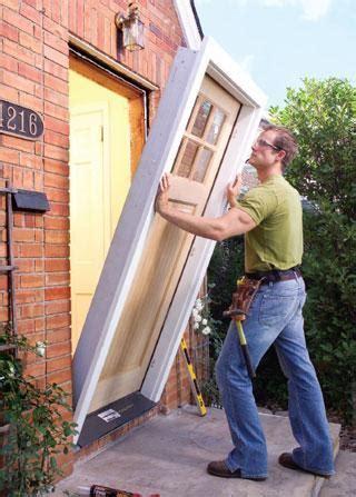 comment installer une porte d entr 233 e