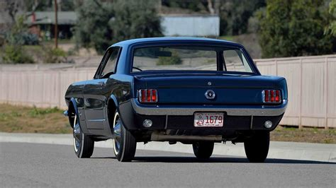 mustang made the ford mustang hardtop