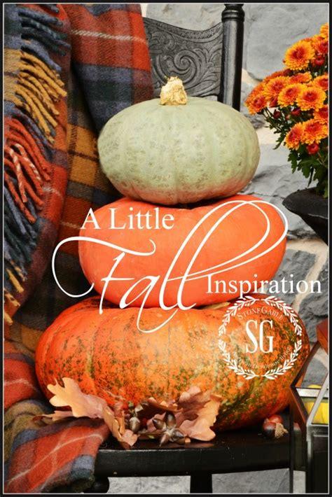 a fall inspiration stonegable