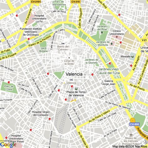 Best Selling Home Decor by Valencia Spain Map