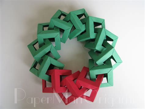 how to make origami decorations origami decorations origami wreath
