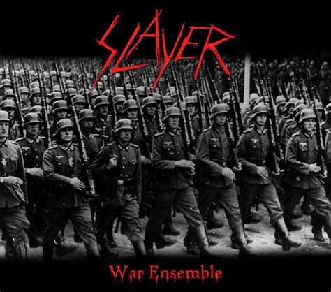 Slayer War 2 custom album cover slayer war ensemble by rubenick on