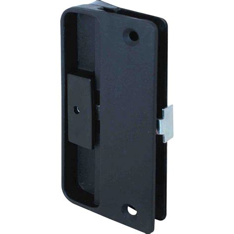 prime line plastic mortise latch and pull for sliding screen doors a 151 the home depot