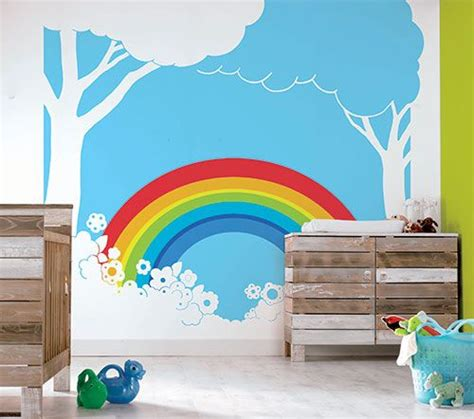 24 best images about room on rainbow wall