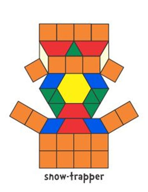 pattern block blackline masters 1000 images about math pattern block pictures on