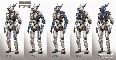 film up humandroid christian pearce chappie concept art part 1