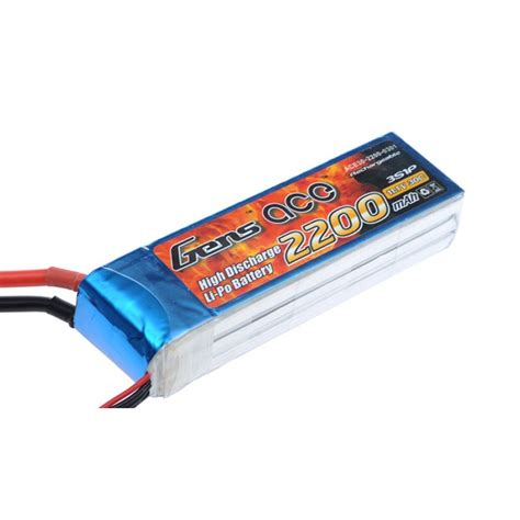 best 3s lipo battery gens ace 2200mah 3s 30c lipo battery pack gens ace