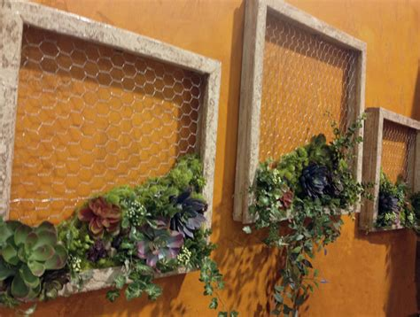 succulent garden diy wall decor favecraftscom