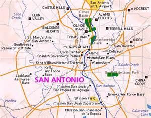 map of san antonio and surrounding cities san antonio map and surrounding cities