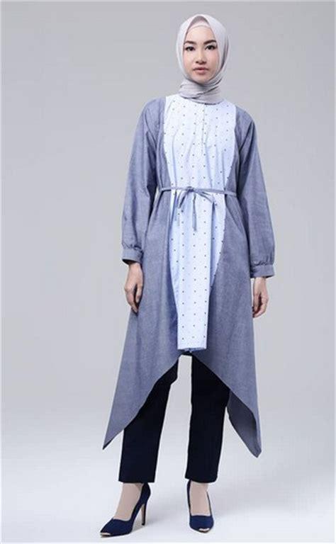 Terlaris Atasan Trendy Mix Model Atasan Tunik Atasan Cifon 1 15 koleksi terbaru baju muslim tunik modern trend 2017