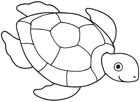 Outline Of A Portrait by Outline Drawing For Simple Turtle Drawing Turtle Outline Coloring Pages For Small