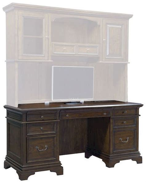 writing desk with matching credenza aspenhome credenza desk essex asi24 316