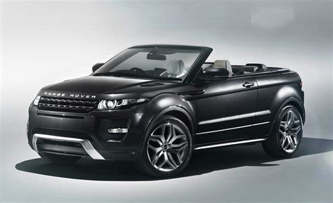green range range rover evoque convertible gets the green light