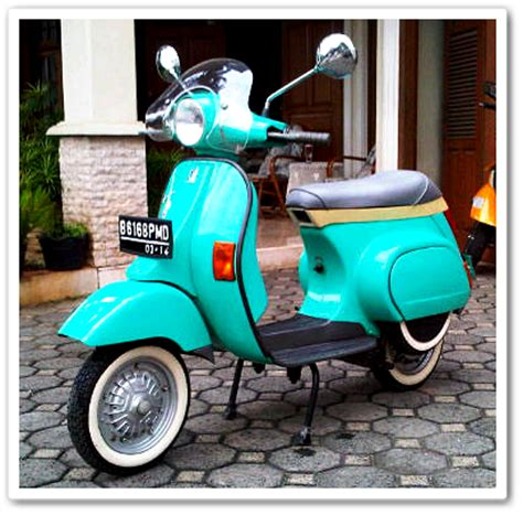 Vespa Kep Kopling Made In Italy mengenal vespa corsa 125 sang pelopor skuter matik indonesia