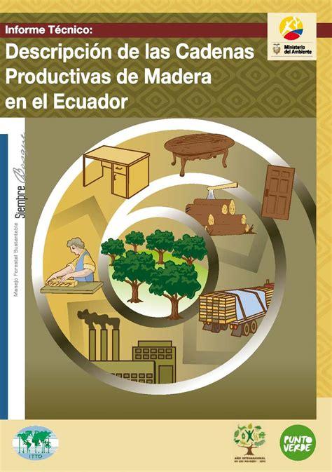 cadenas productivas de mexico calam 233 o cadenas productivas de madera en el ecuador