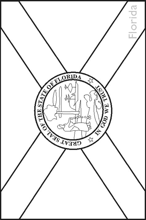 florida state symbols coloring pages florida fish