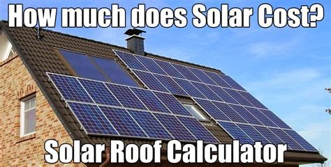 solar roof price solar roofing calculator
