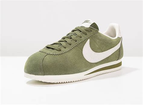 Nike Cortez 02 Suede nike cortez leather se legion green daim vert homme