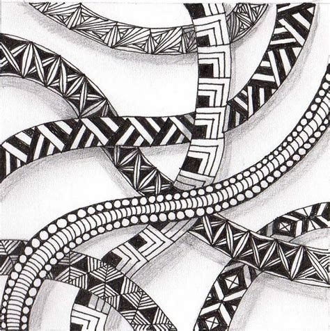 zentangle pattern wadical 17 best images about tangles on pinterest circles