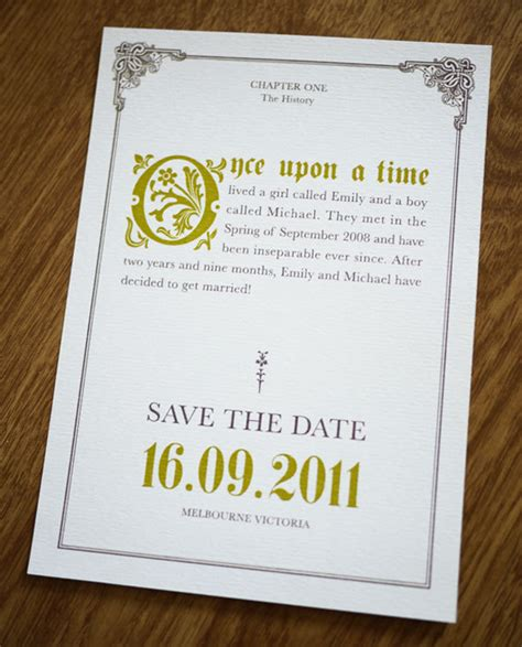 liz owen graphic design and illustration fmp wording on wedding invitations - Once Upon A Time Wedding Invitations Wording