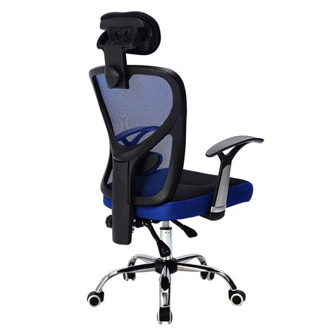 High Back Office Chair With Headrest by Ergonomic Mesh High Back Office Chair Computer Desk Task Executive With Headrest Ebay