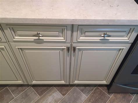 kitchen antique white cabinets quartz countertops