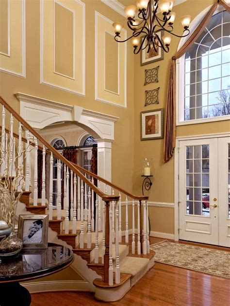 story foyer design pictures remodel decor  ideas
