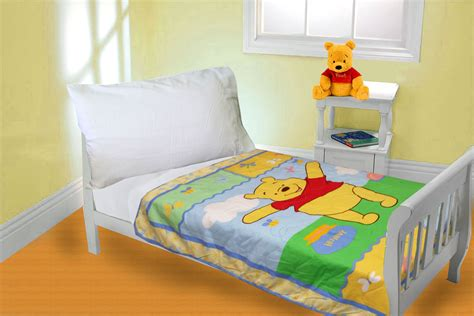crib comforter measurements winnie the pooh bear quilt comforter boys toddler crib size
