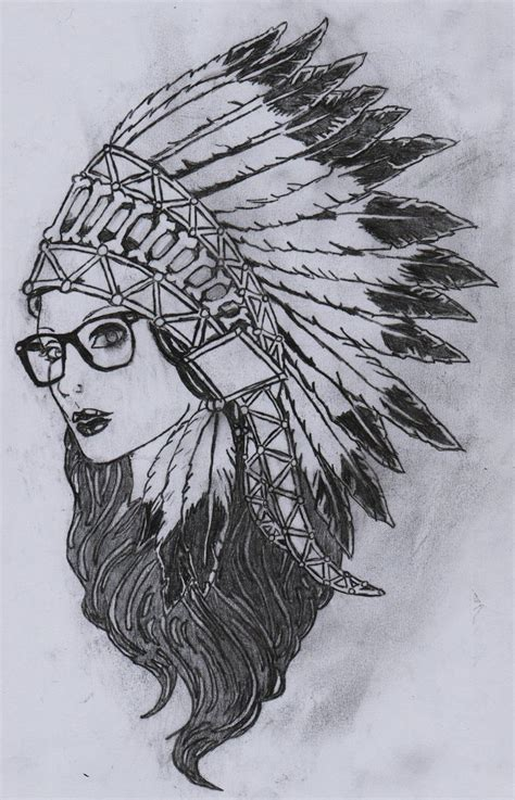 headdress tattoo designs images for gt with indian headdress drawing tattoos