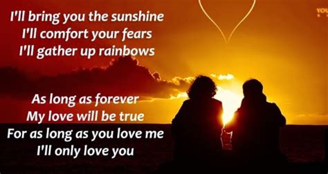 i ll be there to comfort you romantic quotes with pictures for girlfriends poetry lovers