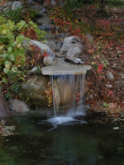 Waterfall Ponds Backyard 1000 Ideas About Outdoor Waterfalls On Pinterest