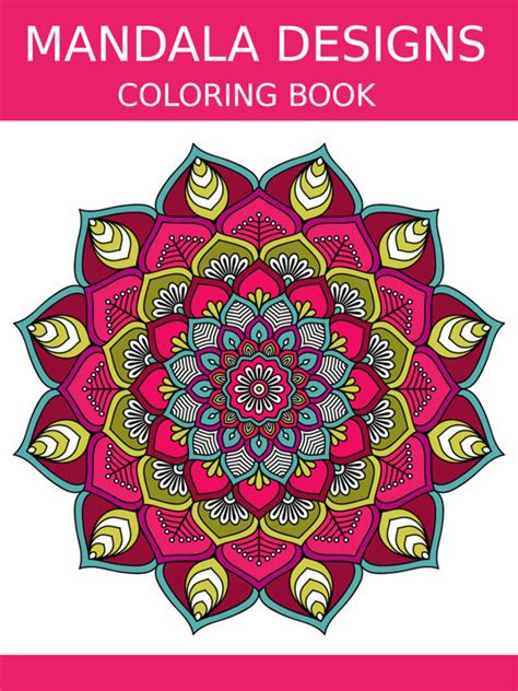 Mandala Coloring Book S Calm Color Therapy On The