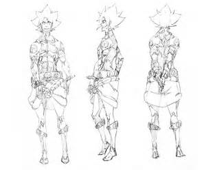 Character Design Template by Character Design Style 2 2 By Wolfsmoke On Deviantart