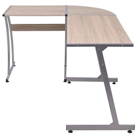 scrivania a l vidaxl scrivania ad angolo a l quercia vidaxl it