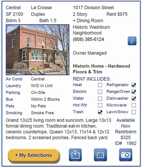 appartment listings renters apartment connextion rental guide wisconsin