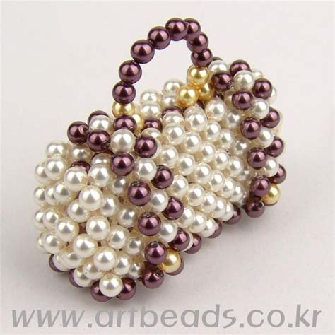 beaded purse tutorial beaded purse pattern easy to follow pictures artbeads