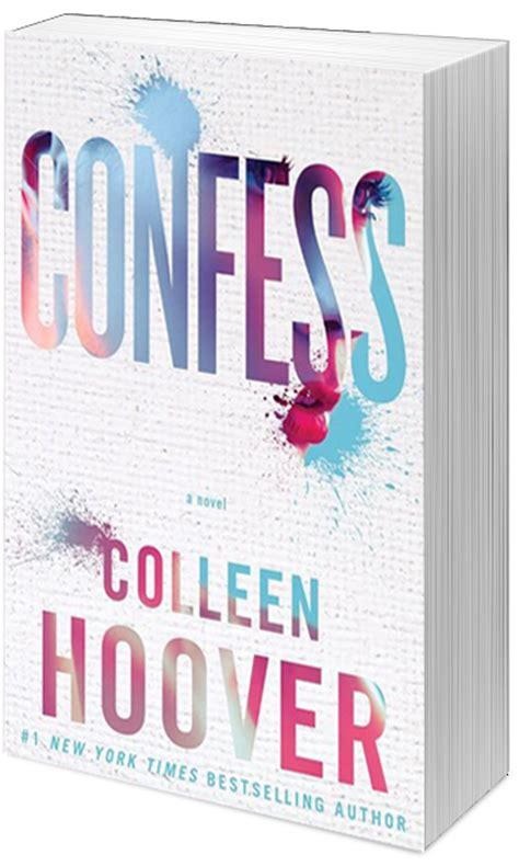 Colleen Hoover Confess words feather rese 241 a confess colleen hoover